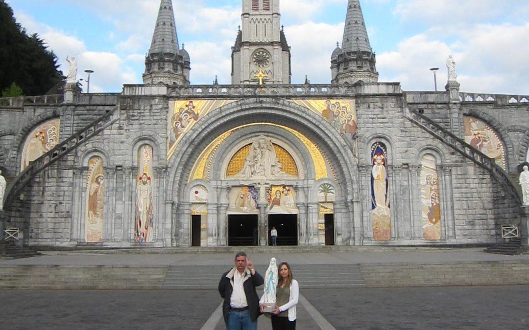 Nueva imagen peregrina de Lourdes de la Asociación Misericordia