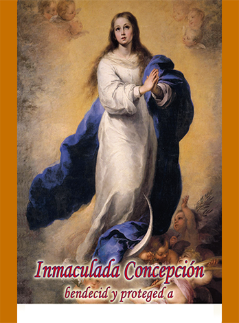Tarjeta Inmaculada Concepción