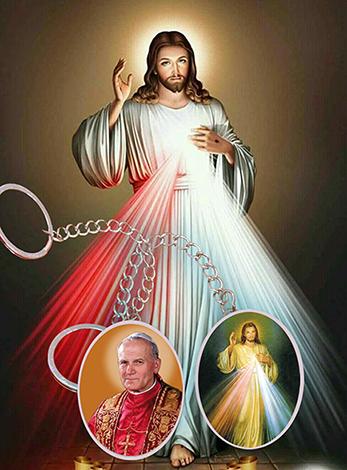 Llavero del Sagrado Corazón Jesús