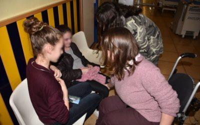 Visita Hospital Niño Jesús pediatría – Madrid – 11 de febrero de 2017