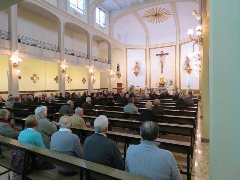 Visita Residencia Santa Casilda – Hermanitas de los Ancianos Desamparados – Toledo – 06 de marzo de 2018
