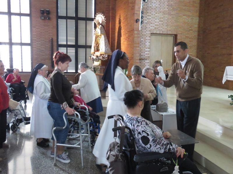 Visita Residencia Cotolengo del Padre Alegre – Valencia – 20 de octubre de 2018