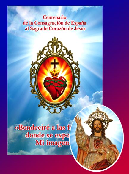 Adhesivo Sagrado Corazón de Jesús